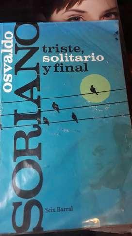 TRISTE SOLITARIO  Y FINAL (usado-seix barral)