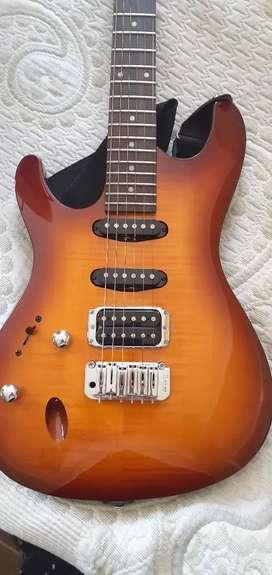 Guitarra electrica ibanez zurda