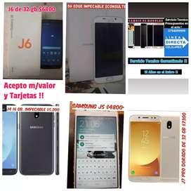 Vendo J7 Pro de 32 gb $7300_J6 de 32gb $6800--REPARACIONES EXPRESS