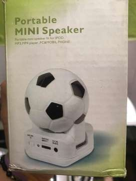 Parlante nuevo Coleccion futbol