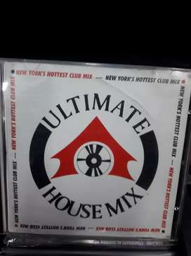 Ultimate house mix cd original oferta $10