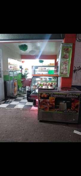 Se vende o se permuta montaje para frutería y pastelería