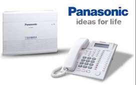 PLANTA TELEFONICA PANASONIC KX-TES824 3 LINEAS Y 8 EXTS INCLUYE LA OPERADORA ,AMPLIABLE 8 LINEAS Y 24 EXTS
