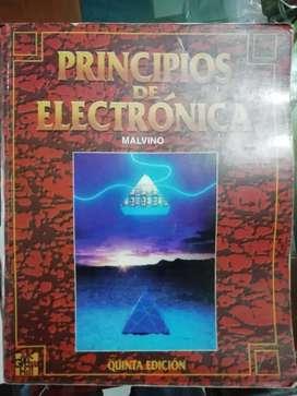 Principios de electrónica de Malvino, quinta edición.