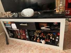 Mueble para tv laqueado