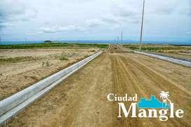 VIVE FRENTE AL MAR A 35 MINUTOS DE MANTA, TERRENOS URBANIZADOS DE 200M2(10M X 20M) 16.000 USD, FINANCIAMIENTO DIRECTO,S1