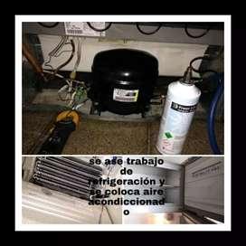 Trabajo de refrigeración