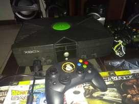 Xbox clásica excelente estado
