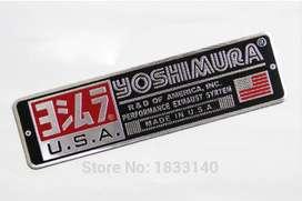 Pegatina Yoshimura 3d