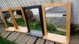 espejos con repisa