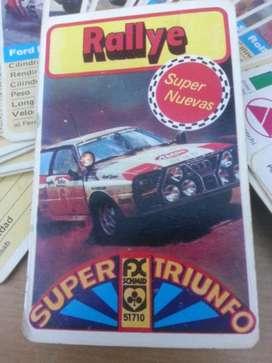Juego de naipes Rallye SCHMID Antiguo