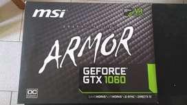 Placa de video Nvidia 1060 6GB