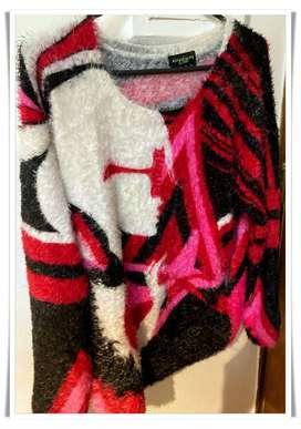 EXCLUSIVO Sweater de MUJER Talle M Importado con Gran Diseño USADO