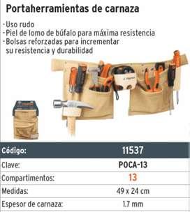 cinturon de carnaza 13 compratimientos truper