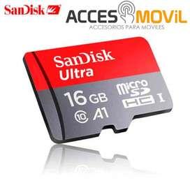 MICROSD PARA NINTENDO SWITCH, SANDISK 16GB CLASE 10 98MB/S