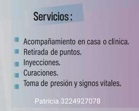 Ofrezco servicio de cuidadora de personas .Ofrezco servicio de cuidadora de personas .