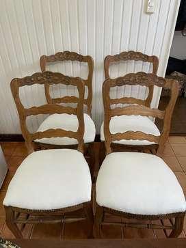Vendo 4 sillas Provenzal