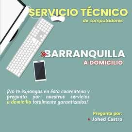Mantenimiento computadores a domicilio Barranq
