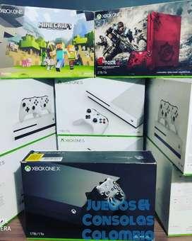 Xbox one X usada como nueva 3 meses de uso