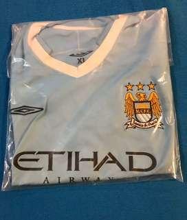 Camiseta Manchester city celeste Tévez 32