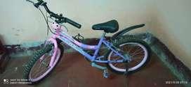 Vendo bicicleta aro 20 para niña