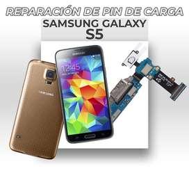 ¡Reparación de Pin de Carga Samsung Galaxy S5!