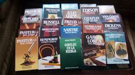 Venta de Enciclopedias y Obras literarias y libros de Doctrina Jurídica varios autores y títulos.