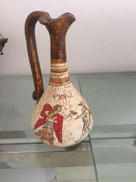 Jarra griega antigua ceramica