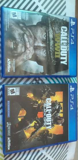 Call Of Duty WWII Y Black Ops IIII