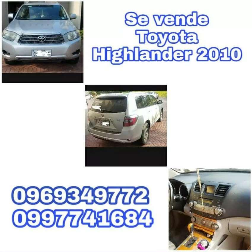 Toyota Highlander de oportunidad 0