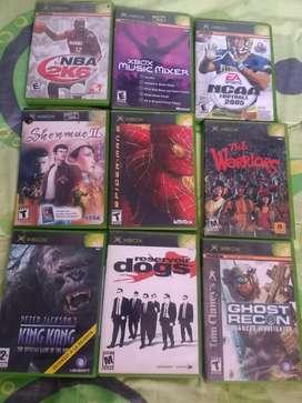 Juegos originales xbox