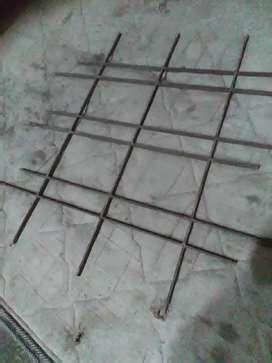 Reja de hierro para ventana 5 mm