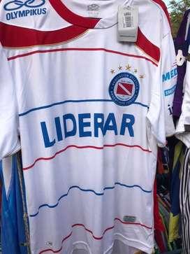 Camiseta aaaj argentinos jrs blanca suplente