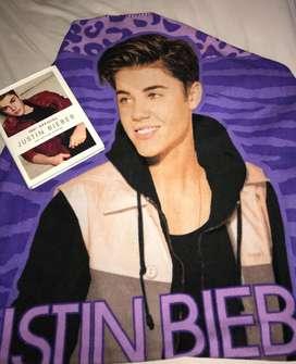 Libro original y sabana de Justin Bieber