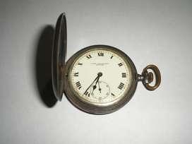 Reloj de Bolsillo de acero ,marca ESCASSANY ,suizo