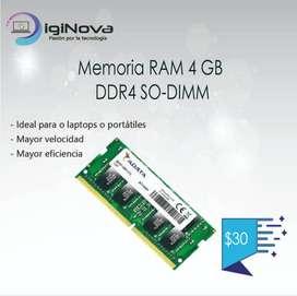 Memoria RAM 4 GB DDR4 SO-DIMM