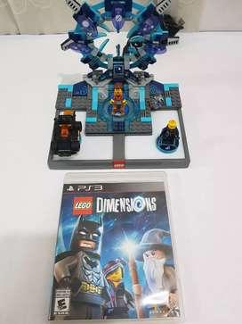 LEGO DIMENSIONS + PORTAL + JUEGO+ 3 PERSONAJES
