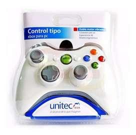 Control Para Pc Tipo Xbox 360 Alambrico