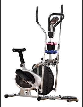 Maquina eliptica multifuncional sport fitness