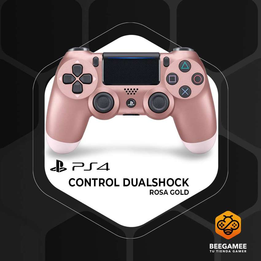 Control Original PS4 Oro Rosa