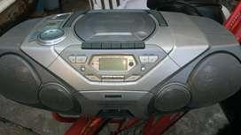 Radio Cd Cassetera