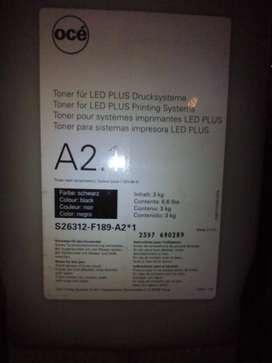 Toner OCE para sistemas impresora led plus x 3 bi dones de 3 kg. cada uno
