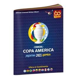 ALBUM OFICIAL PANINI COPA AMERICA 2021