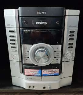 Equipo de Sonido Sony GENEZI Completo con Subwoofer