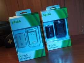 Batería y cargador mando Xbox 360