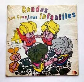Rondas Infantiles Las Conejitas - Disco Lp