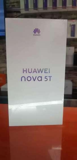 Huawei Nova 5T 128 gb negro azul morado