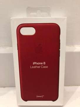 Funda Leather Case Iphone 8 Original