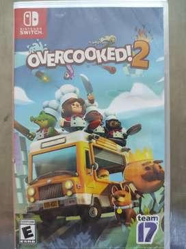 Videojuego Overcooked 2 Nintendo Switch