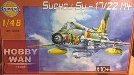 Avion Sukhoi Su-17 Su-22 M4 Escala 1/48 Smer Peru